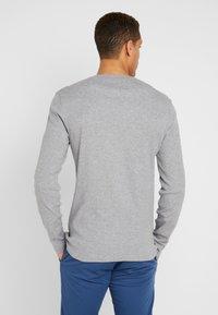 Pier One - Long sleeved top - mid grey melange - 2