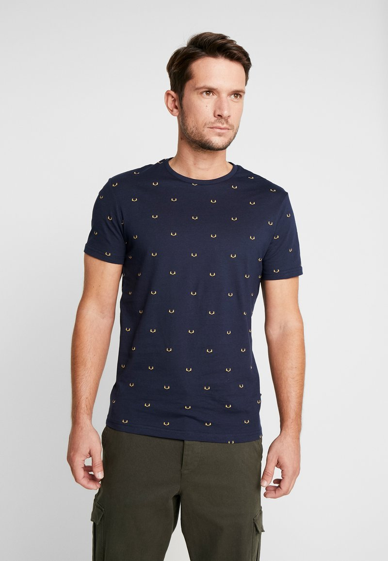 Pier One - T-shirt print - dark blue