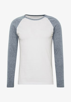 Long sleeved top - white/grey