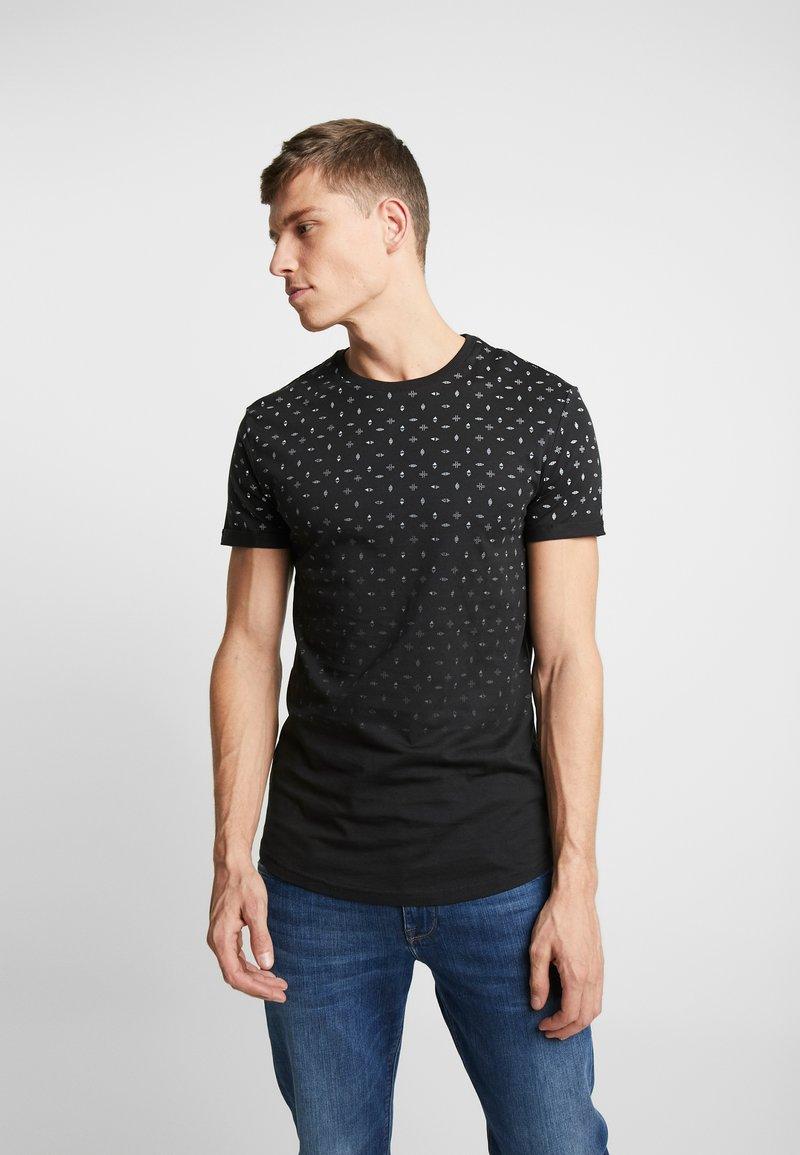 Pier One - T-shirt imprimé - black