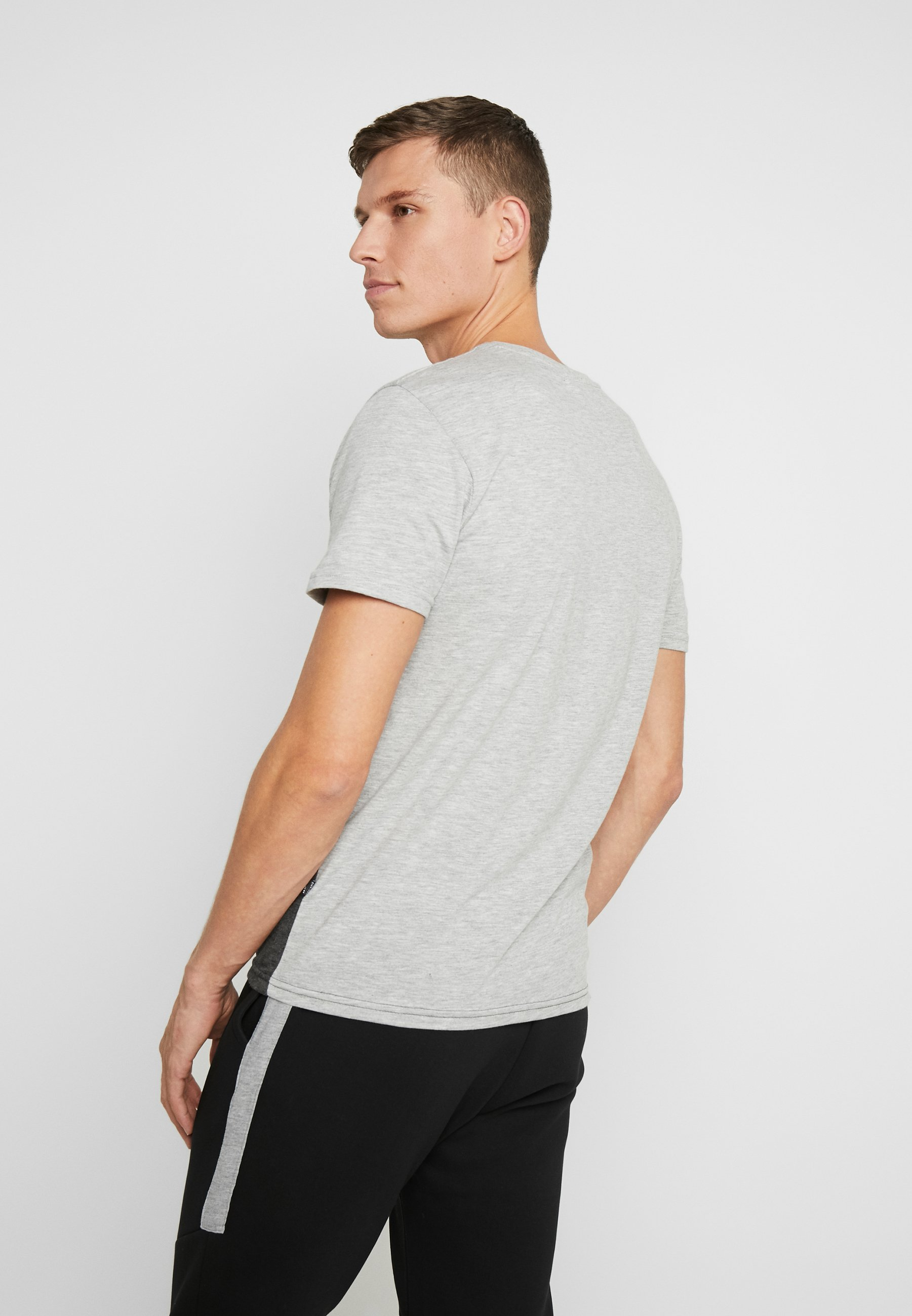 Pier One T-shirt z nadrukiem - grey