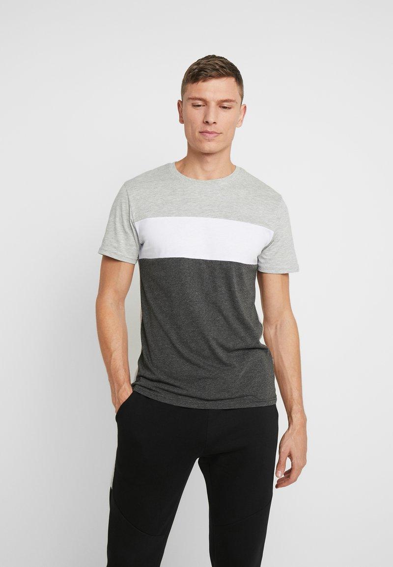 Pier One - Camiseta estampada - grey