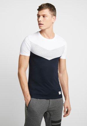 Jednoduché triko - white/blue