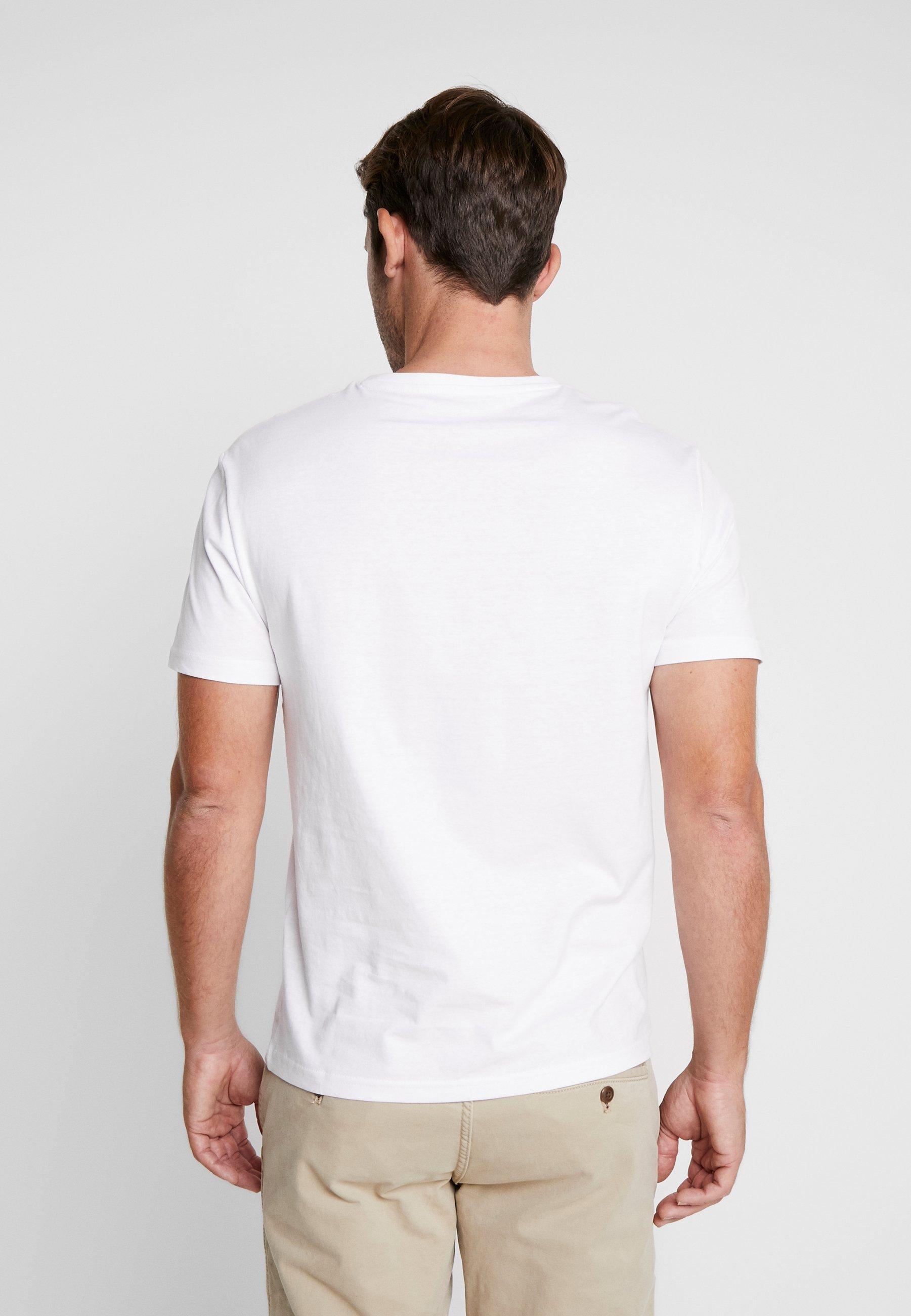 3 PACK T shirt basique white