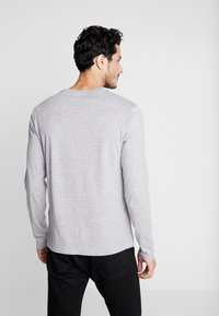 Pier One - Long sleeved top - mottled grey - 2