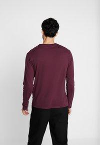 Pier One - Bluzka z długim rękawem - bordeaux - 2