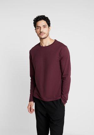 Camiseta de manga larga - bordeaux