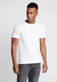 Pier One - 3 PACK - T-shirt basic - white - 2