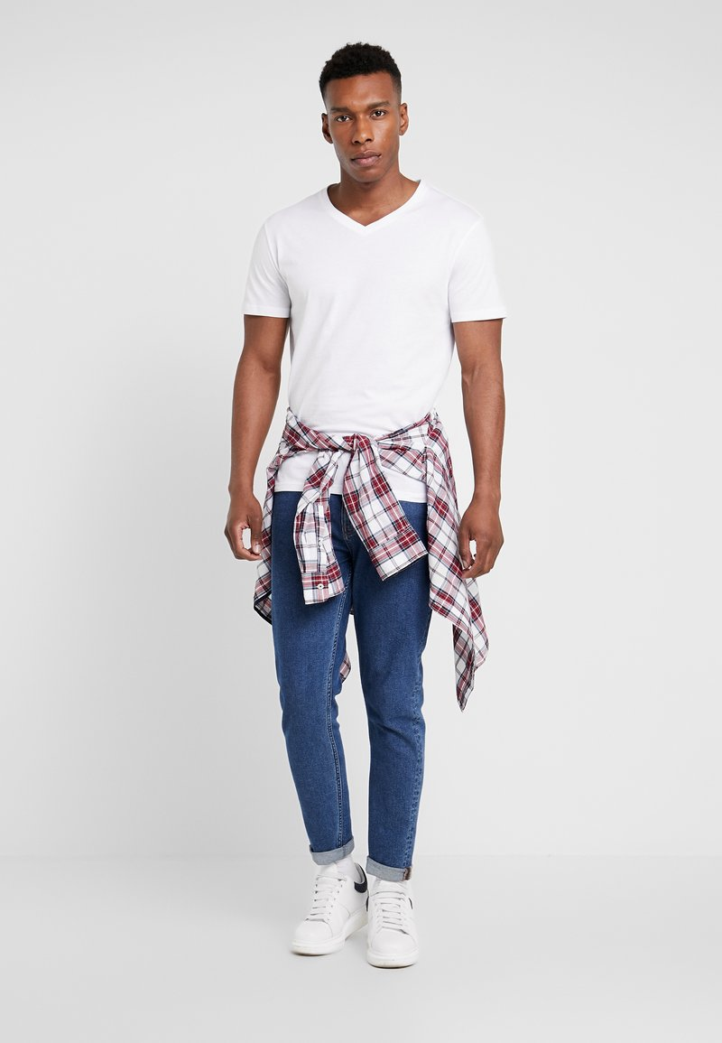 Pier One - 5 PACK - T-shirt basic - white