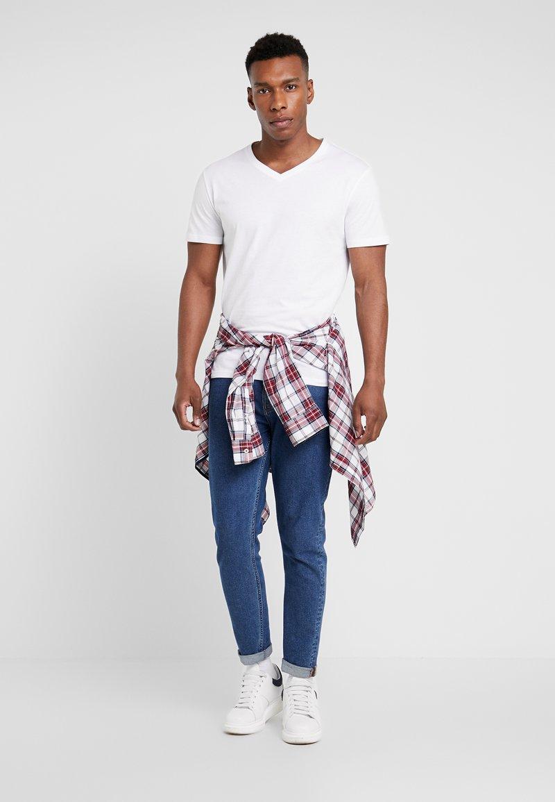 Pier One - 5 PACK - Camiseta básica - white