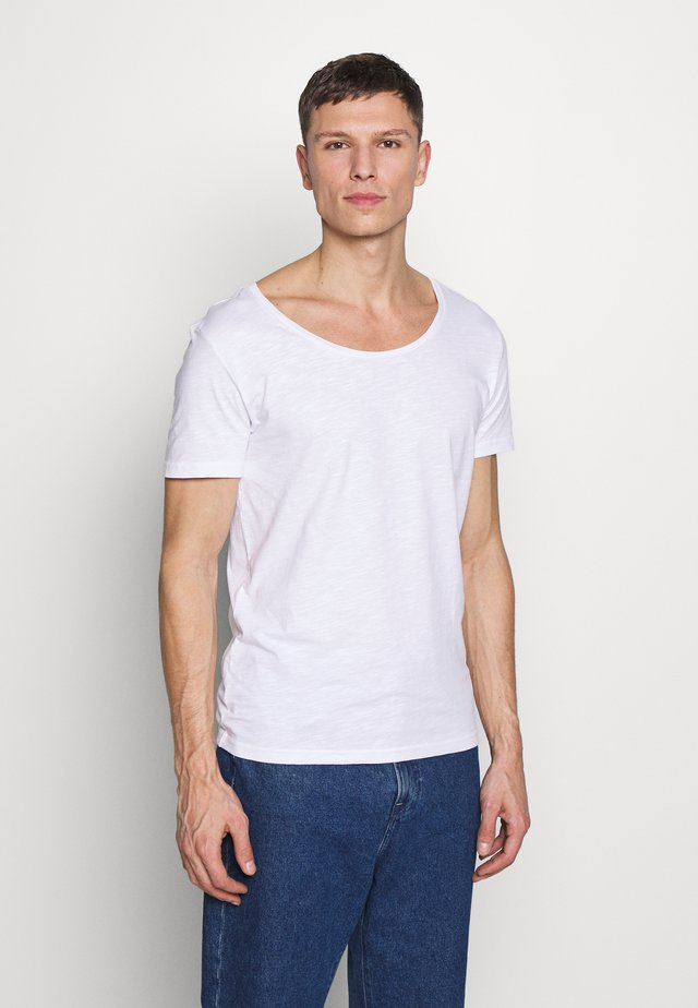 T-shirt - bas - bright white