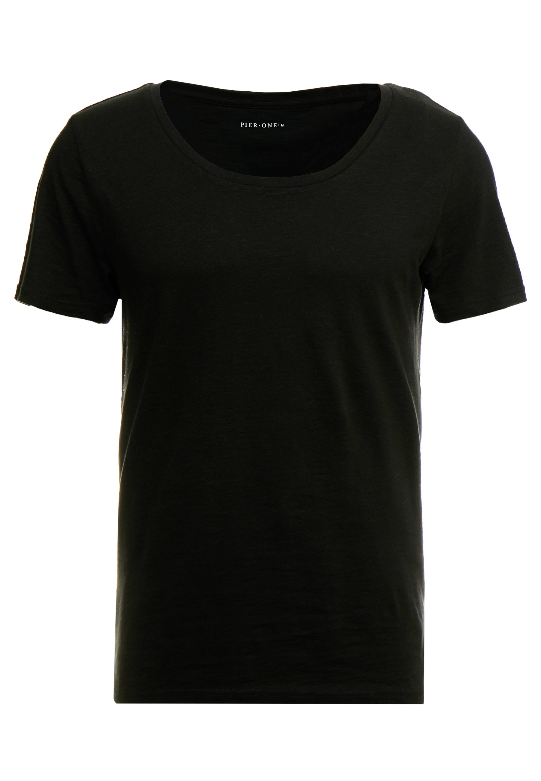 Pier One T-shirt Basic - Dark Gray O2dNh