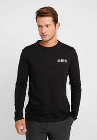 Pier One - Langarmshirt - black - 0