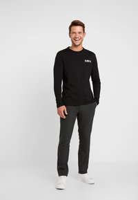 Pier One - Langarmshirt - black - 1