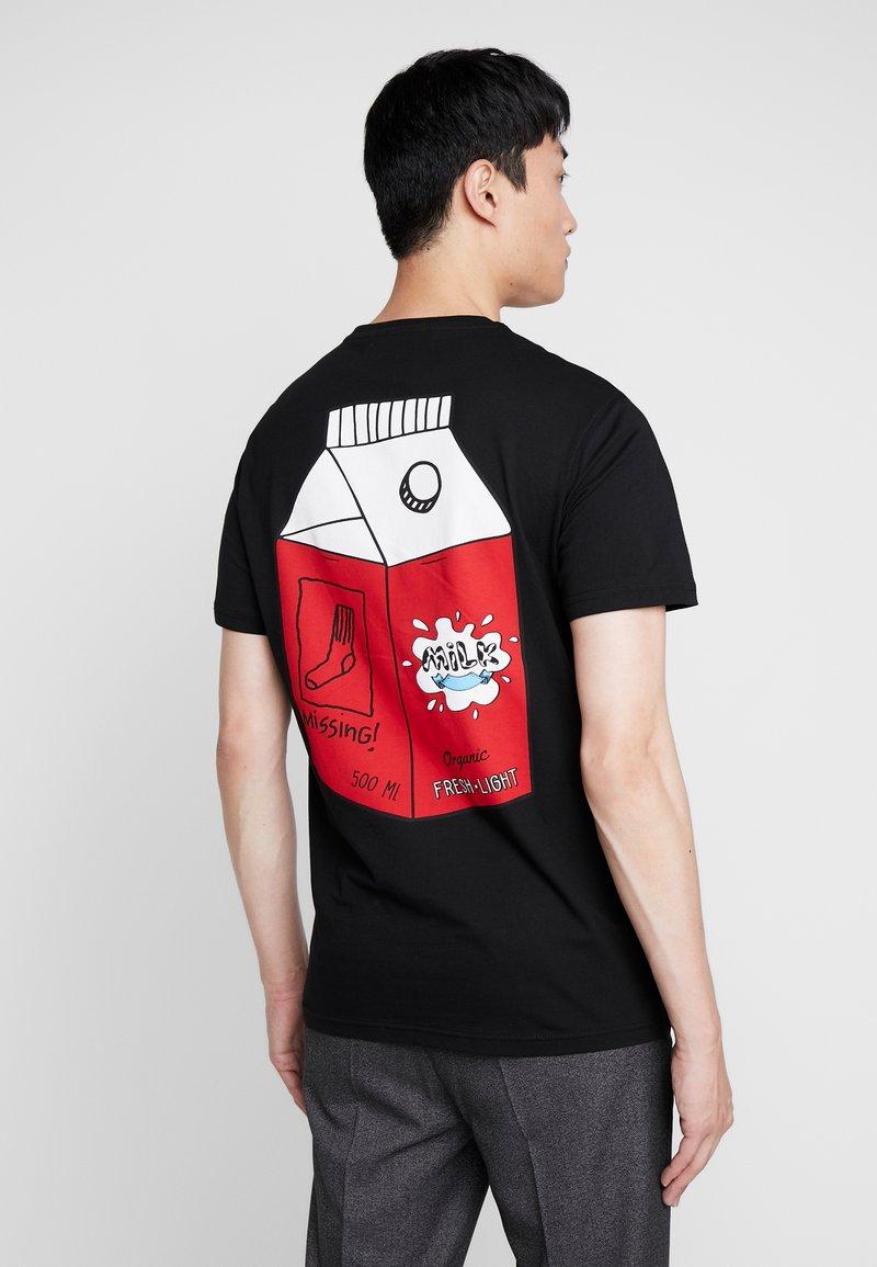 Pier One - T-shirts med print - black