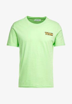 T-shirts med print - green