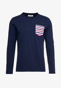 Pier One - Long sleeved top - dark blue - 3
