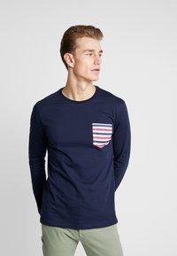 Pier One - Long sleeved top - dark blue - 0