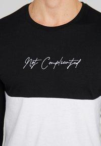 Pier One - Print T-shirt - black - 4