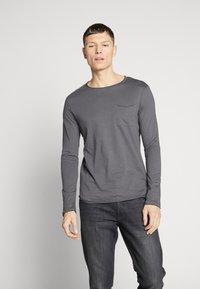 Pier One - Camiseta de manga larga - dark gray - 0