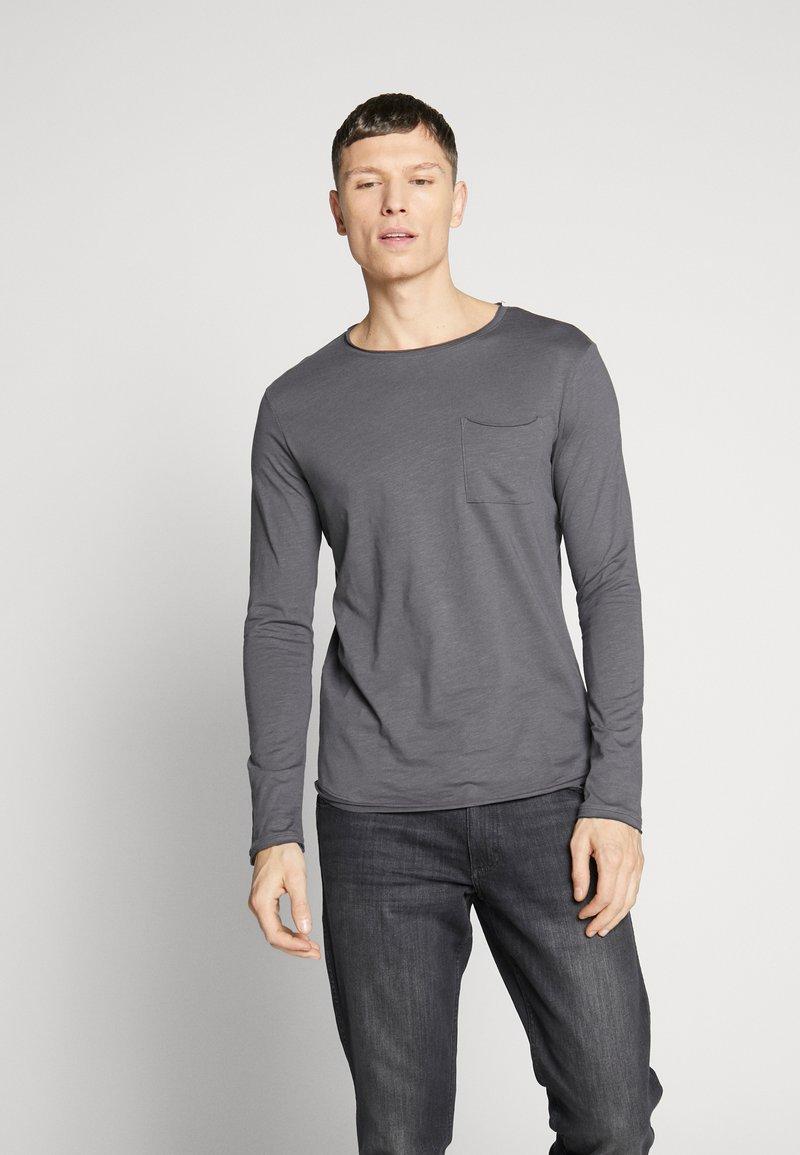 Pier One - Camiseta de manga larga - dark gray