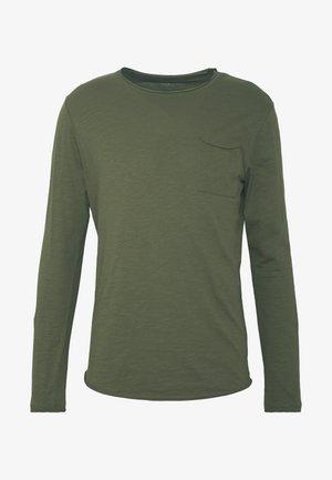 Langarmshirt - olive