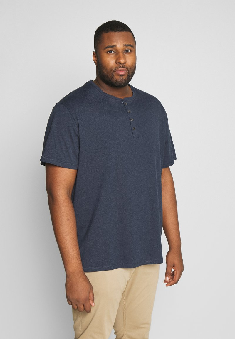 Pier One - Jednoduché triko - dark blue