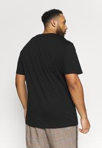Pier One - 2 PACK - Basic T-shirt -  black - 2