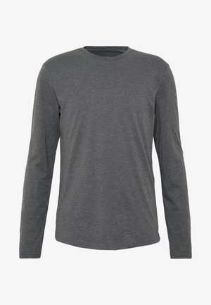 Pitkähihainen paita - mottled dark grey