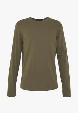 Long sleeved top - oliv