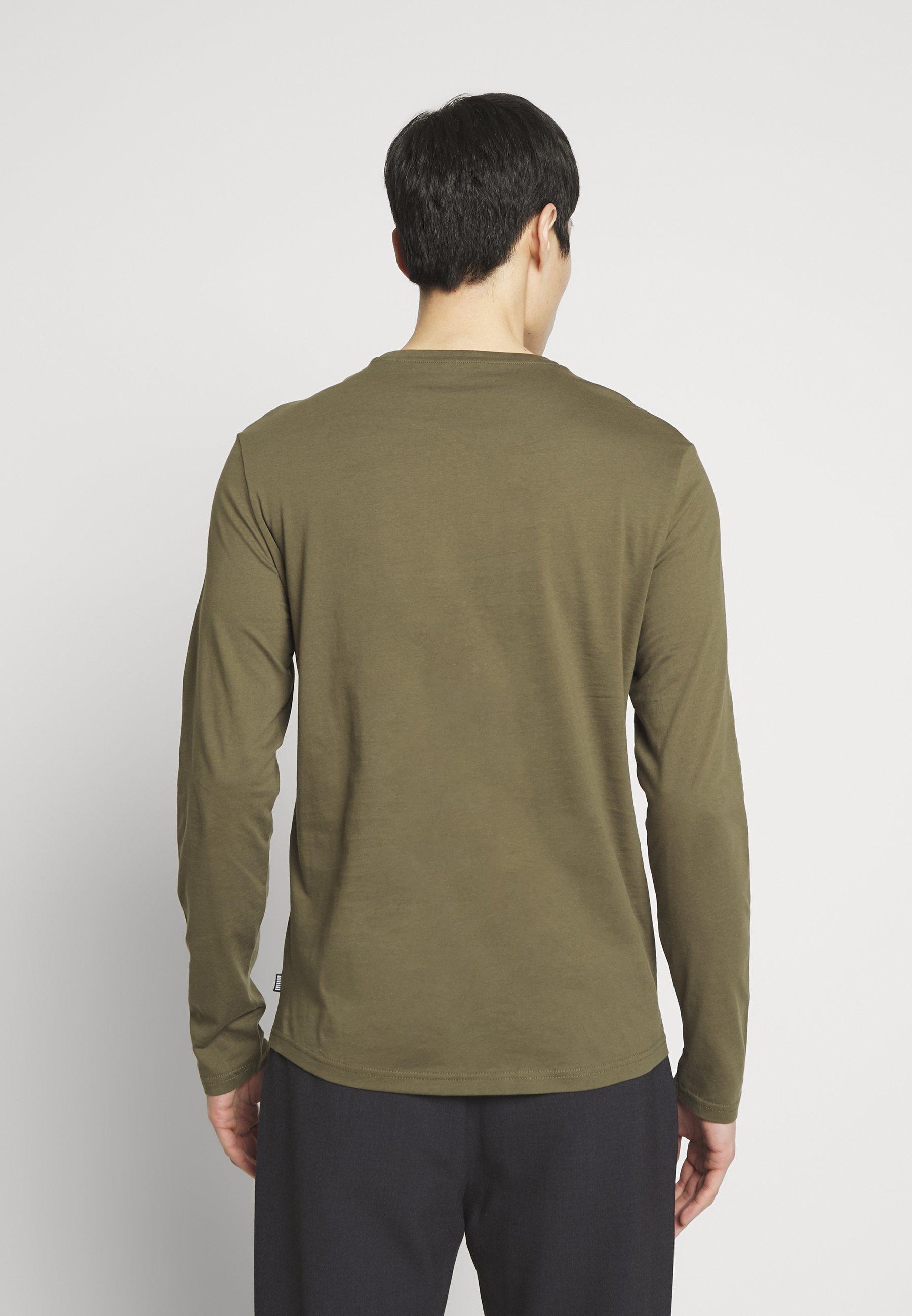 Pier One T-shirt À Manches Longues - Oliv