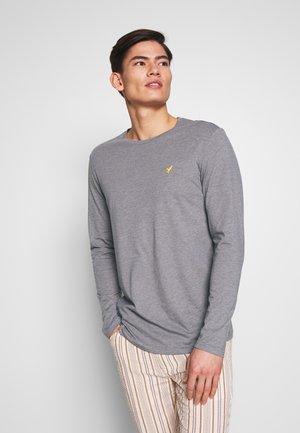 ROUNDED - Camiseta de manga larga - mottled grey