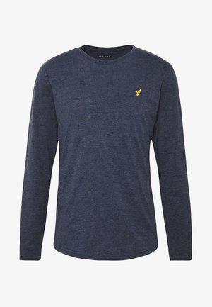 ROUNDED - Pitkähihainen paita - mottled dark blue