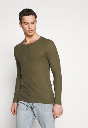 Langarmshirt - oliv