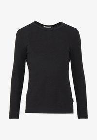 Pier One - T-shirt à manches longues - black - 3