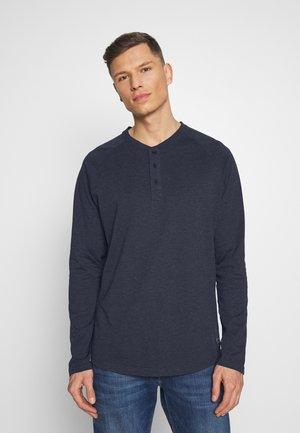 Bluzka z długim rękawem - mottled blue