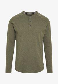 Pier One - Bluzka z długim rękawem - mottled olive - 4