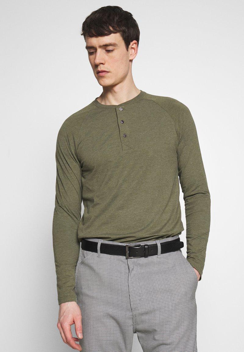 Pier One - Bluzka z długim rękawem - mottled olive
