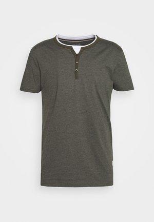 T-shirt basique - mottled olive