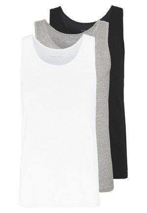3 PACK - Linne - white/black