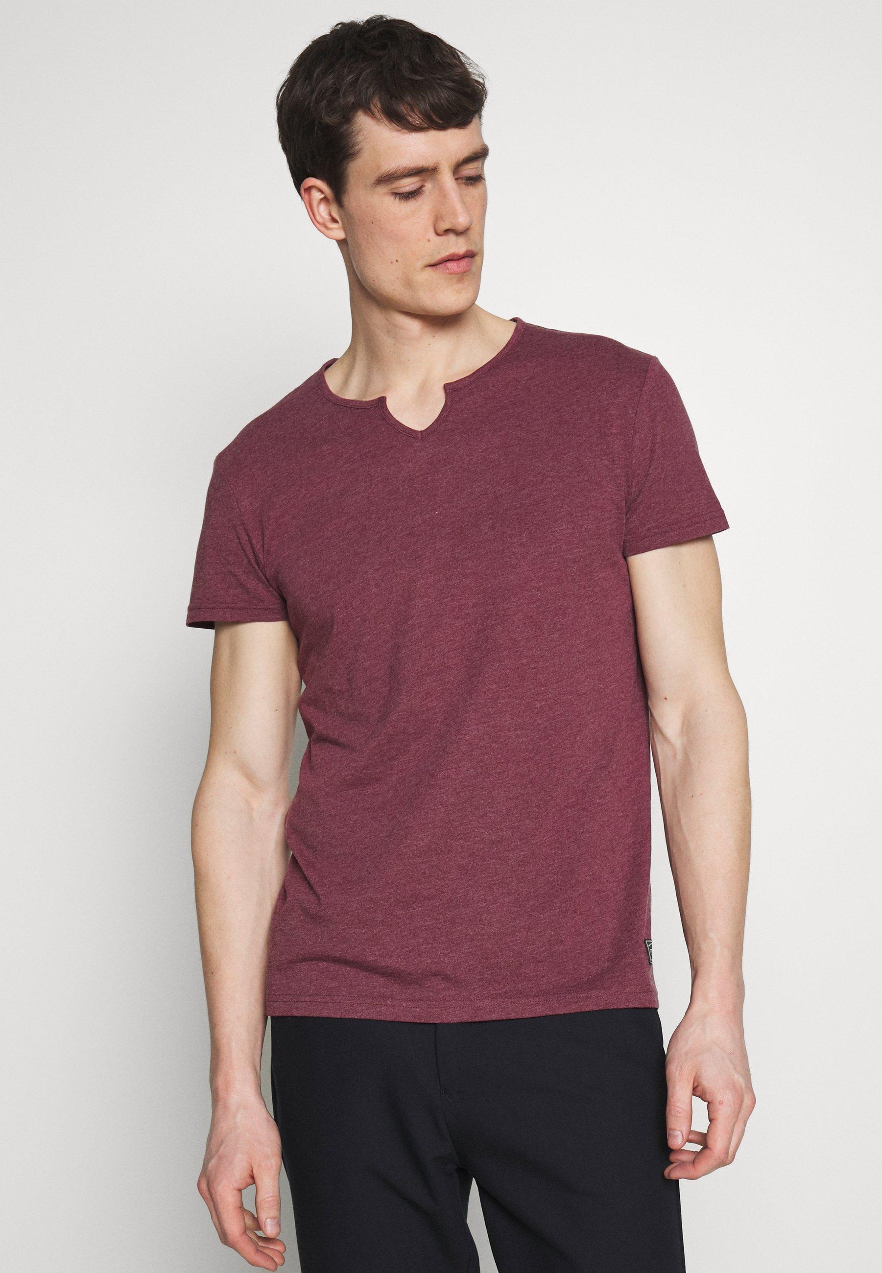 Pier One T-shirt basic - bordeaux