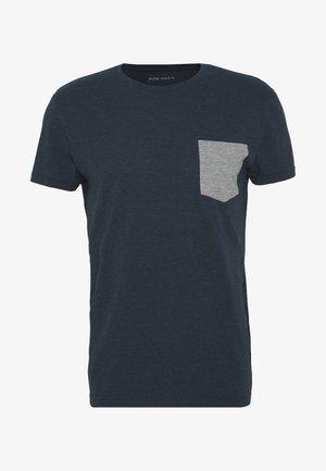 T-shirt imprimé - mottled blue