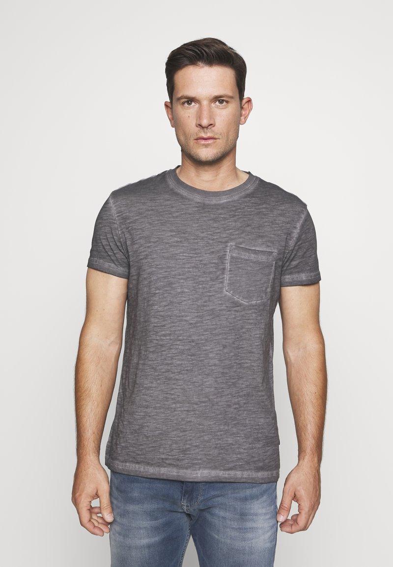 Pier One - T-shirt basique - dark gray