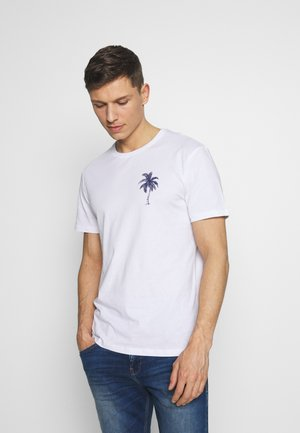 PALM CALI TEE - Camiseta estampada - white