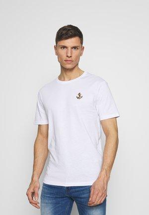 ANCHOR TEE  - Print T-shirt - white