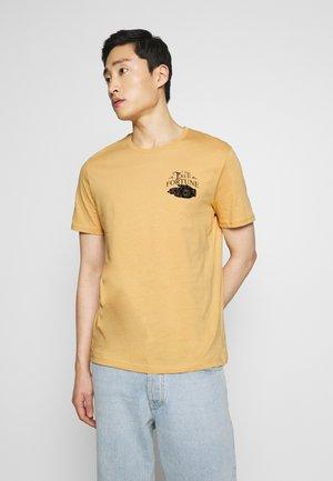 Camiseta estampada - tan
