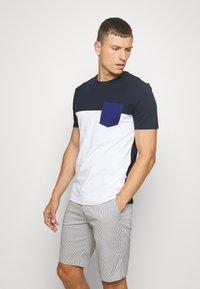Pier One - T-shirt imprimé -  dark blue - 0
