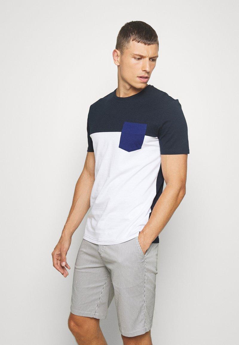 Pier One - T-shirt imprimé -  dark blue