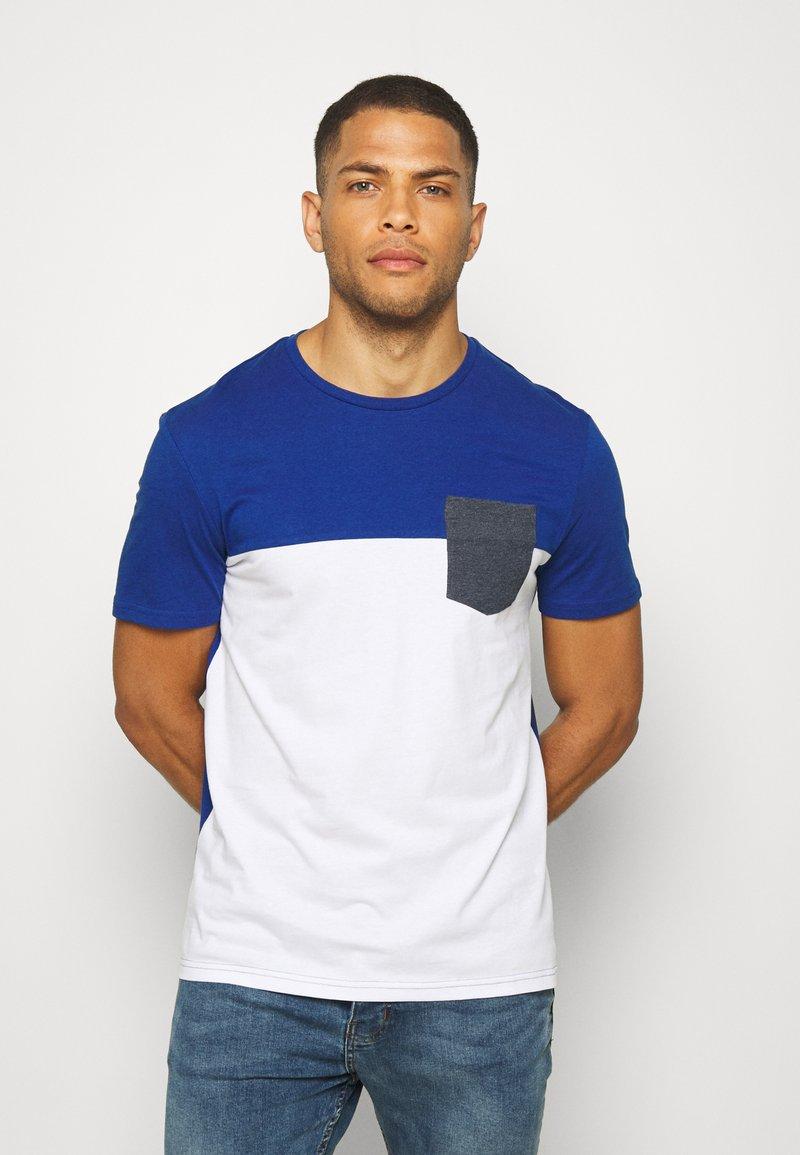 Pier One - T-shirt print - light blue