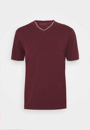T-shirt - bas - bordeaux